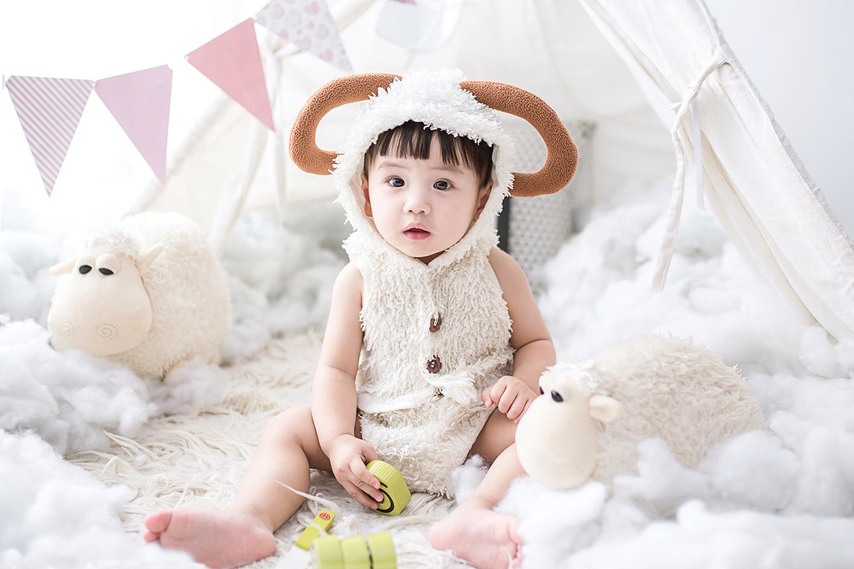 Schäfchen Kleidung für Babys
