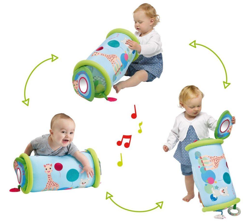 Baby-Geschenk-10-tolle-Geschenke-fuer-Babys-unter-einem-Jahr-Krabbelrolle