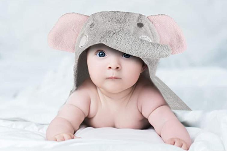 Babys Erstausstattung Liste Handtuch