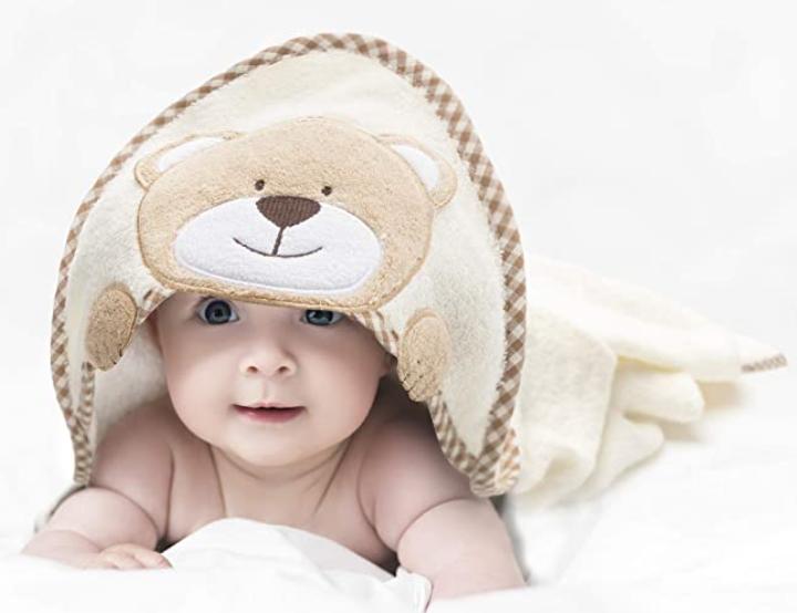 Babys Erstausstattung Liste Handtuch Mädchen
