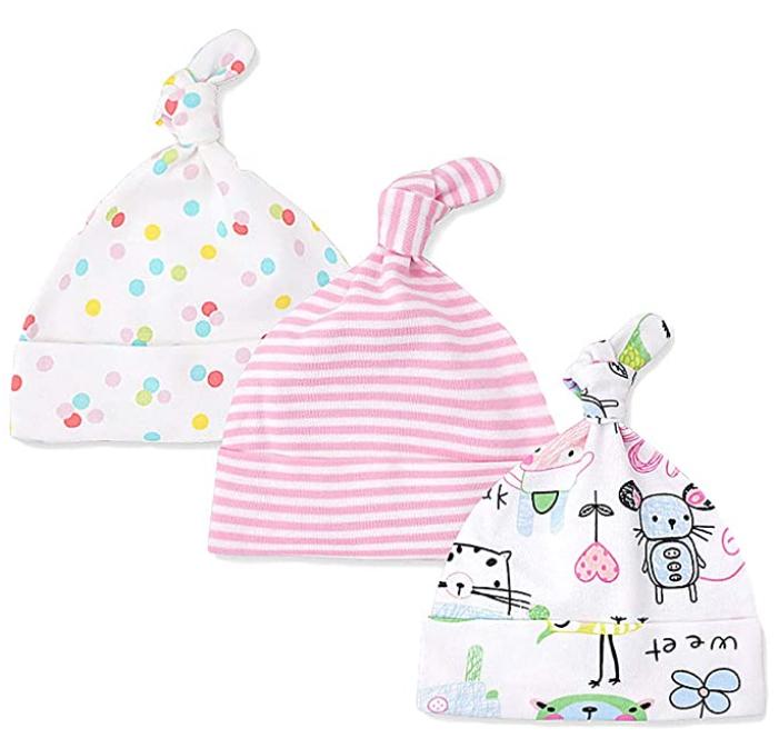 Babys-Erstausstattung-Liste-Mütze-Mädchen