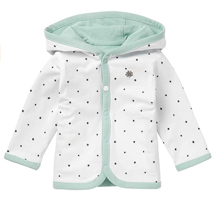 2-in-1 Jacke für Babys Wendejacke grün