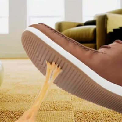 Kaugummi klebt auf dem Teppich,, wie entferne ich Kaugummi aus Teppich